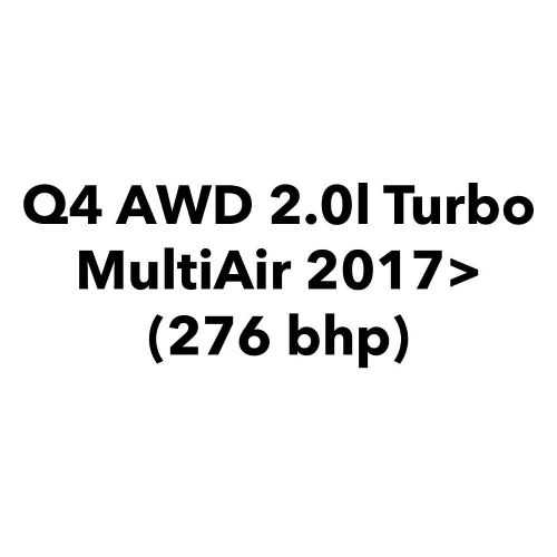 Q4 AWD 2.0l Turbo MultiAir 2017> (276 bhp)
